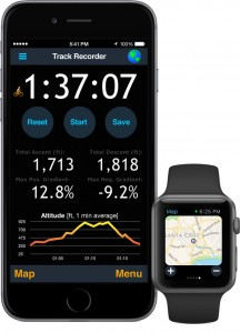 MotionX-GPS with Apple Watch